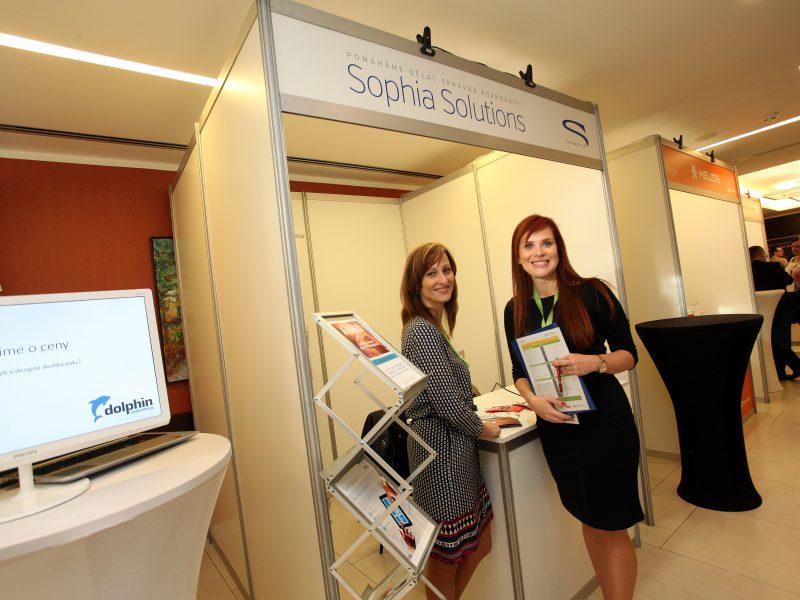 Stánek Sophia Solutions
