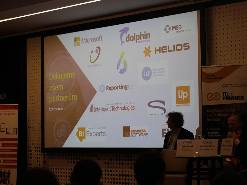 Poděkování partnerům konference